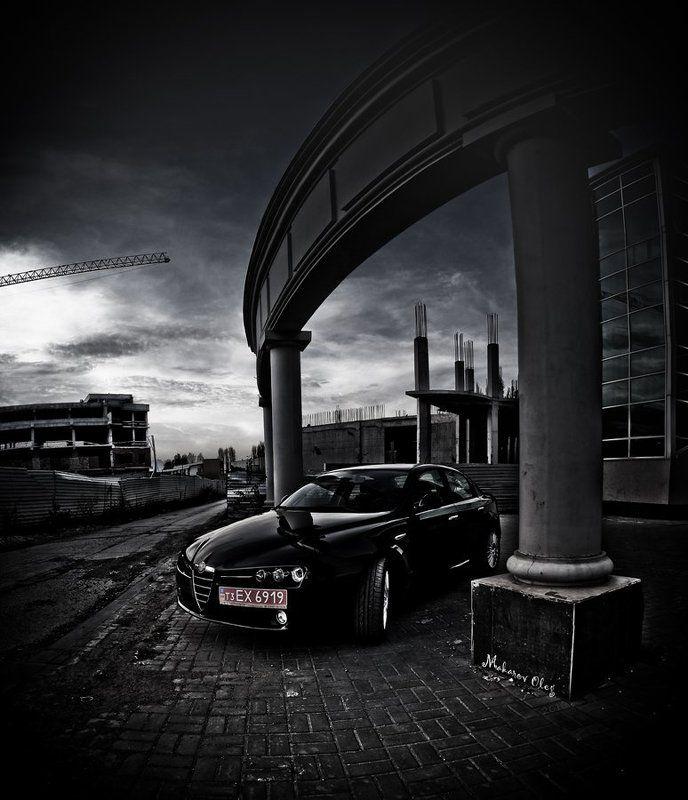 alfa romeo, авто, Альфа на альфу)photo preview
