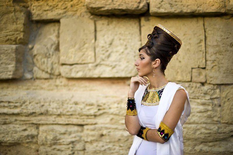 египет, царица нифертити Царица)photo preview