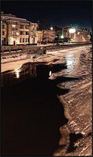 Ночные гулялки на Озерковской набережной
