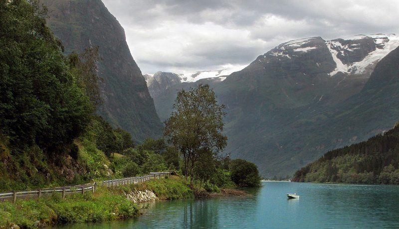норвегия В тихом фьёрдеphoto preview