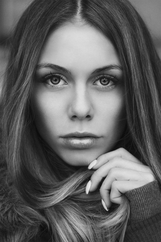 portrait, beauty, beautiful, blackandwhite, gorgeous, mecedesz meszaros, jozefkiss, photograph, nikon ***photo preview
