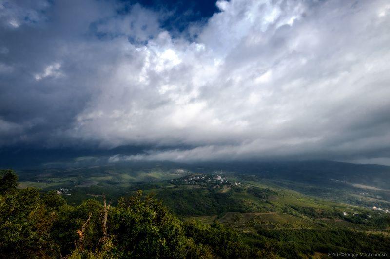 #landscape, #mountains, #crimea Above the cloudsphoto preview
