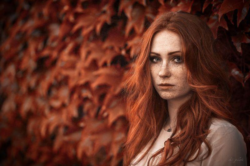 woman, portrait, redhair Firephoto preview