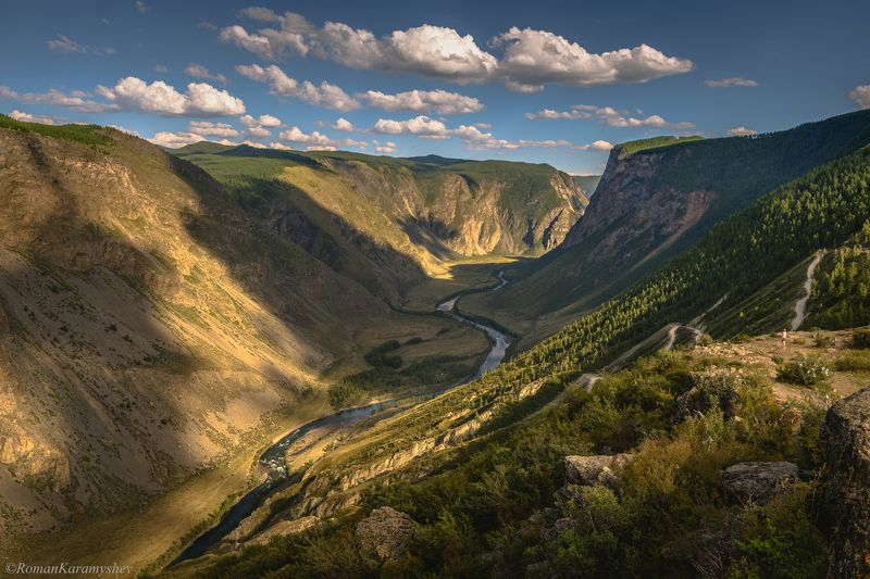 Долина Чулышмана, перевал Кату-Ярык, Республика Алтай. photo preview