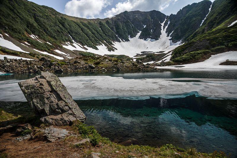 Камчатка, голубые озера, поход, природа, пейзаж, виды, горы, снежник, путешествие Голубые озера. Камчаткаphoto preview