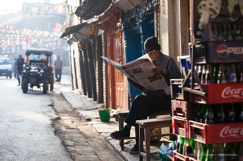непал, гималаи, катманду, бхактапур, непальский, культура, буддизм, каникулы, туризм, nepal,  himalayas,  kathmandu, culture, buddhism, holiday, nepali, tourism, siberiantrip_ru Непальский стритphoto preview