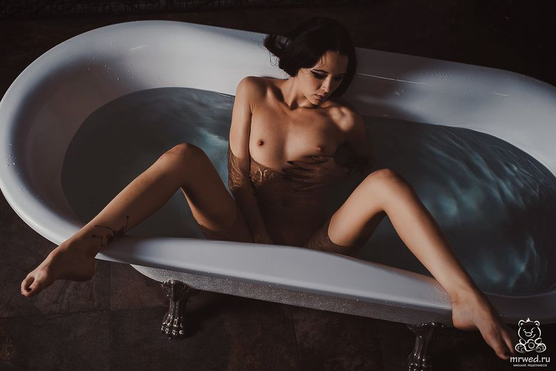 ванная, ню, Михаил Решетников, секс горяоphoto preview