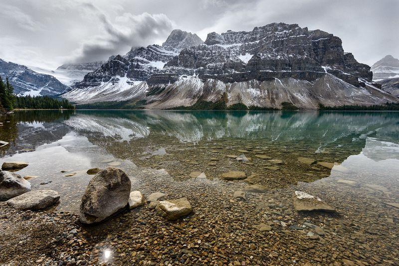 Канада, Скалистые горы Bow lakephoto preview