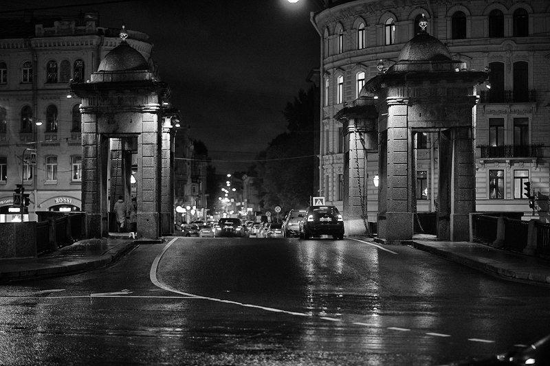 городской пейзаж, санкт-петербург, стрит фото Ночь и деньphoto preview