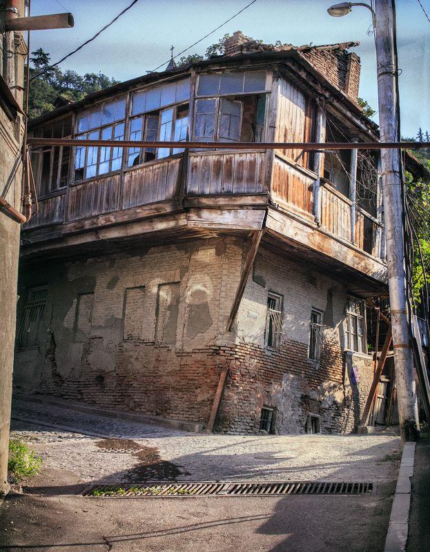 грузия 2017, тбилиси, старый город, лето, улица Старый город.photo preview