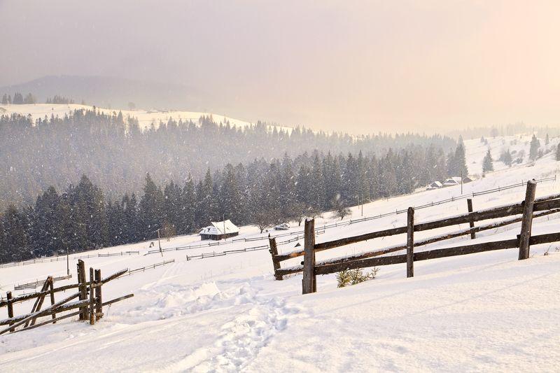 А снег идет, а снег идет...photo preview
