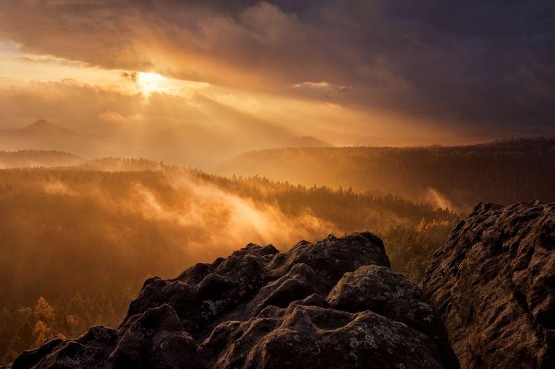 sigma, canon, landscape, elbe, saxon switzerland, Moody sunset..photo preview