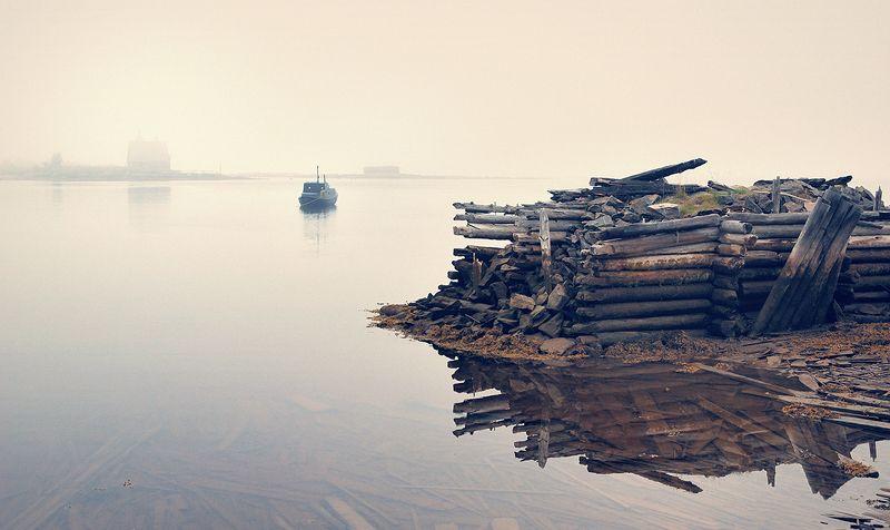 карелия, кемь, рабочий, остров, лодка, белое, море Рабочий островphoto preview