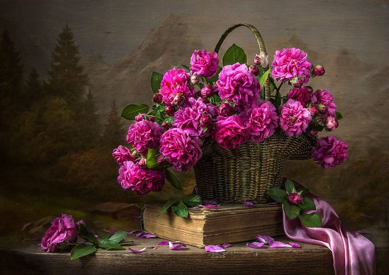 красивый натюрморт с розами,цветы.художественное фото,искусство,творчество. Старинная история.photo preview
