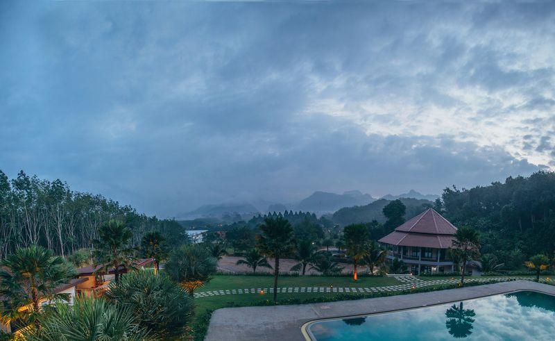 таиланд, путешествие Туманное утро в горахphoto preview