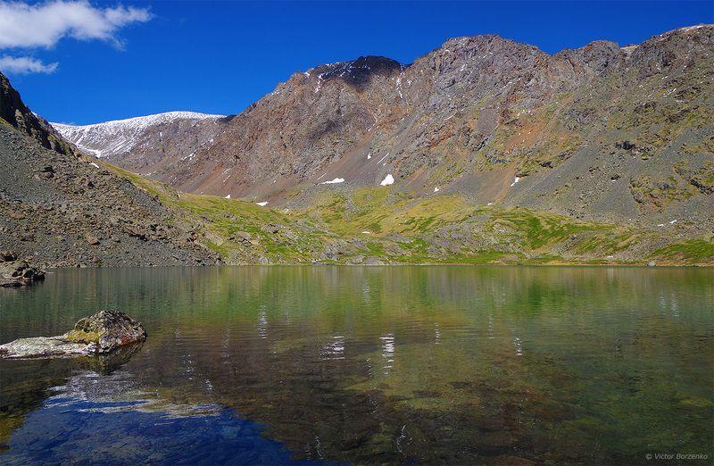 алтай, горы, , озеро Горное озероphoto preview