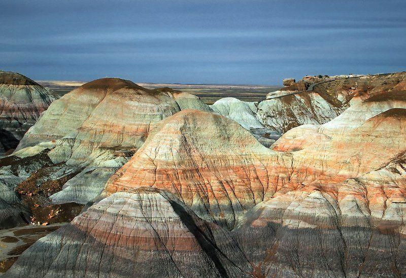 горы, дорога, аризона, ландшафт, природа, пейзаж Солнышко вышло...photo preview