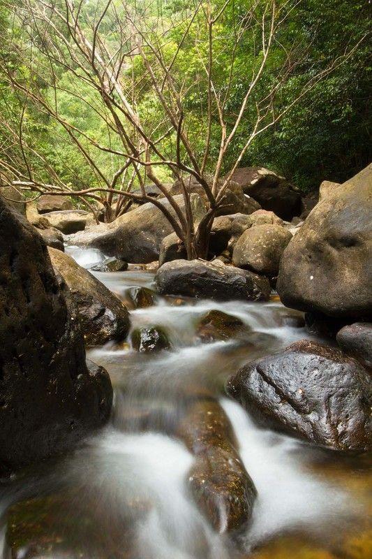 ко, чанг, остров, длинная, выдержка, водопад Секреты джунглейphoto preview