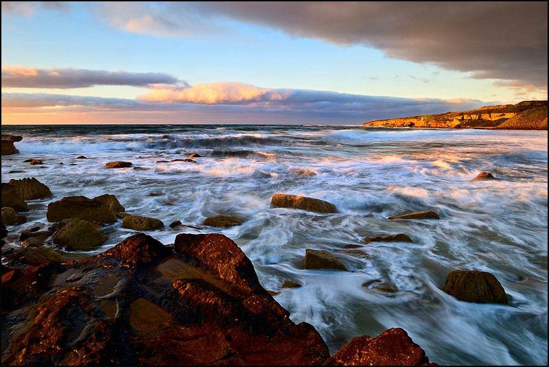 шотландия, море, вечер Свежоphoto preview