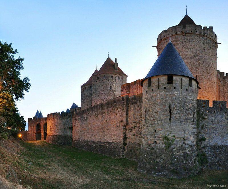 франция, лангедок, крепость, каркассон, tour, de, berard Tour de Berardphoto preview