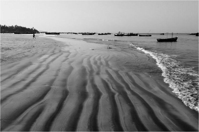 мьянма,пляж,рыбаки,лодки Отливphoto preview