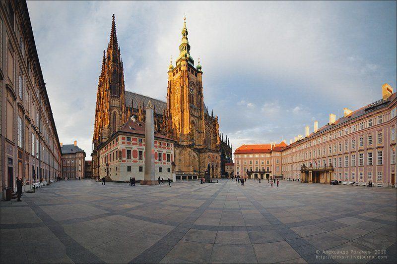 прага,осень,путешествие Прага, собор Святого Вита.photo preview