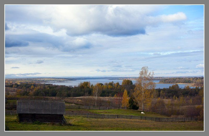 Осень на  озереphoto preview