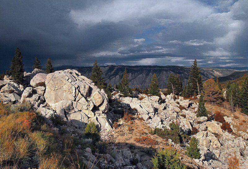 горы, вечер, свет, небо Вечерний свет 2photo preview