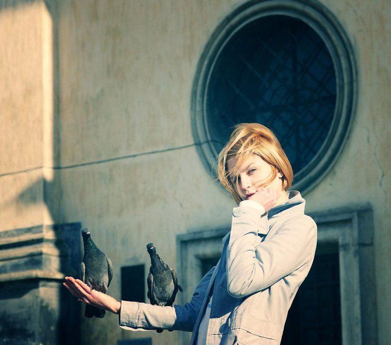 Вы теперь как ангел — не сходите ж с алтаря!..photo preview