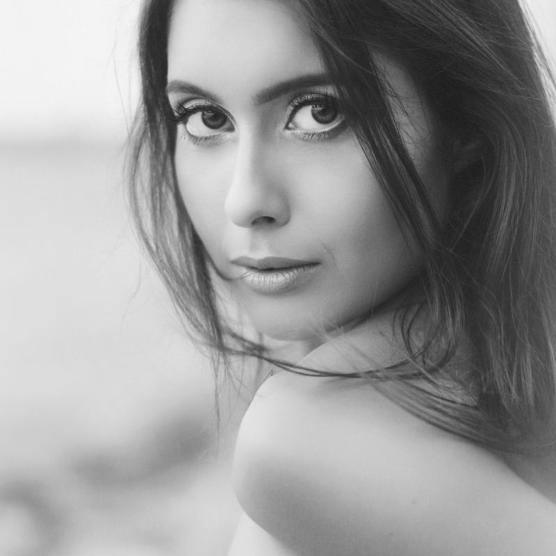 portrait, beauty, beautiful, blackandwhite, gorgeous, lisa, jozefkiss, photography, nikon ***photo preview