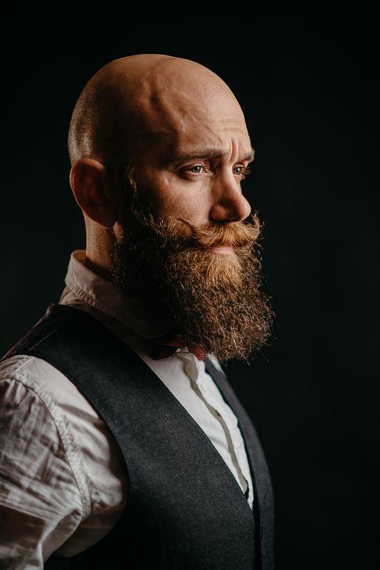 мужскойпортрет, борода, стиль, мужчина, брутал Евгенийphoto preview