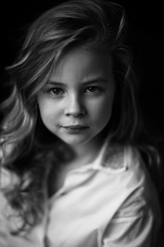baby, girl, black and white, kid, child, eye, strong, passion, alone, childhood A tear contains an oceanphoto preview