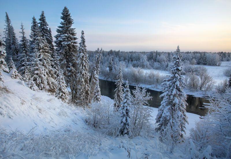 Зимой у речки.photo preview