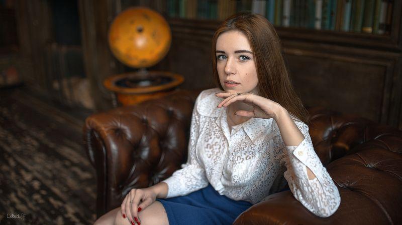 портрет, art, model, lady Катяphoto preview