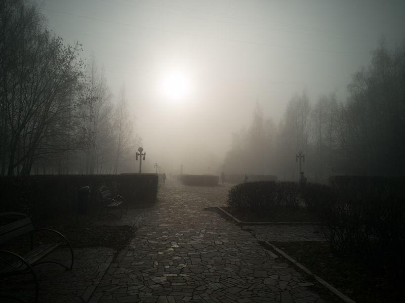 Рязань в туманеphoto preview
