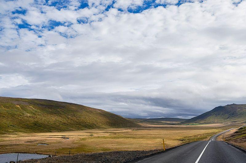 road, lanscape, iceland, travel, nature, пейзаж, природа, путешествия, исландия, дорога Road to somewherephoto preview