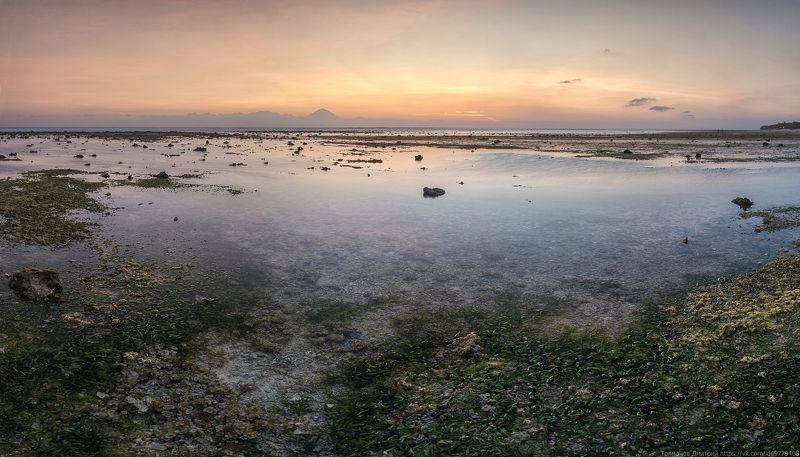 индийский океан, толмачев дмитрий, море, гили, гили траванган, индонезия, Отлив в мягких тонах...photo preview