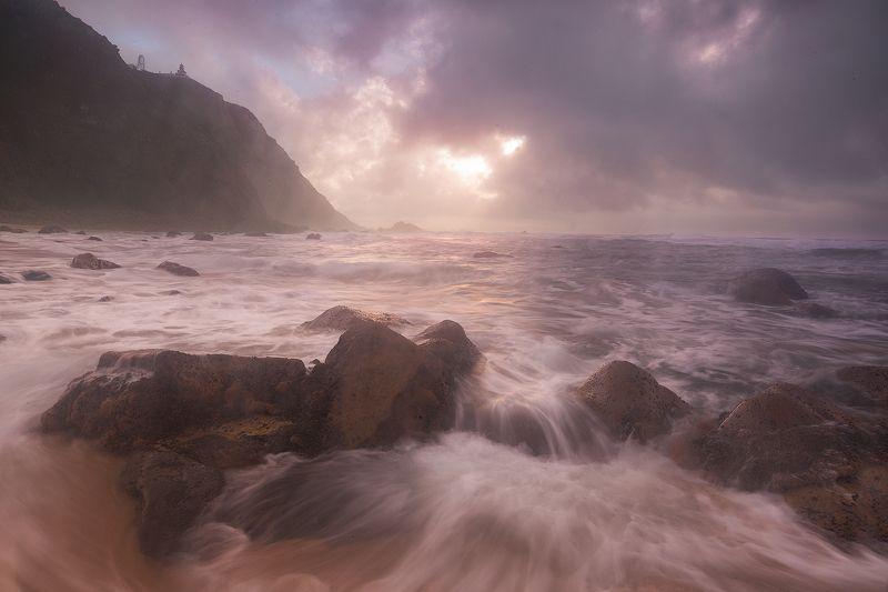 океан, мыс рока, португалия Вечер у мыса Рокаphoto preview