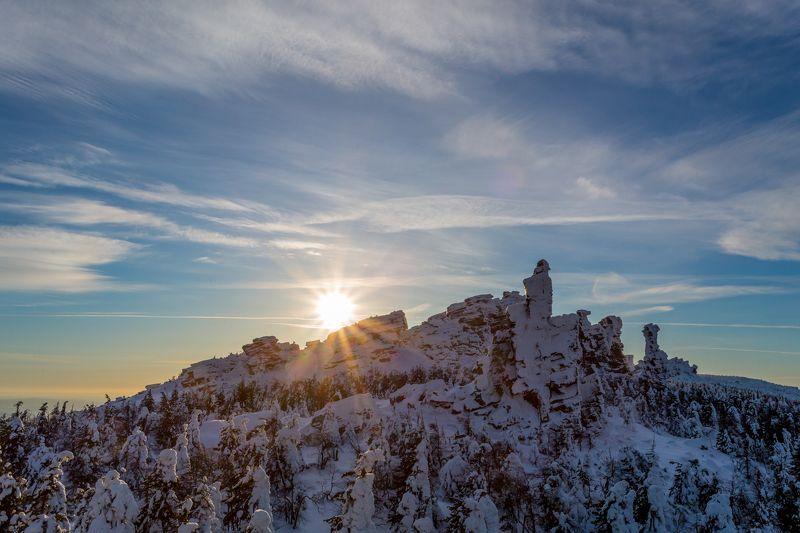 невысокие горы урала Помяненный (колчимский) камень 2018.photo preview