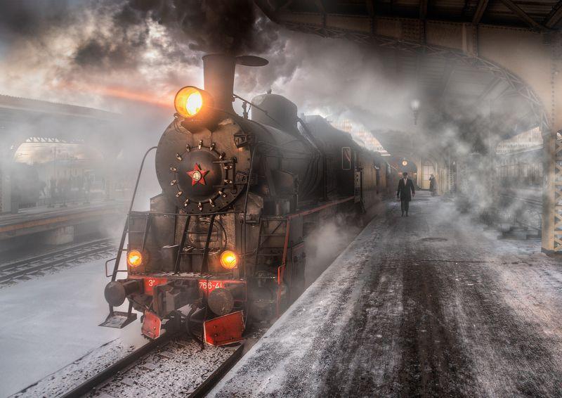 Прибытие поездаphoto preview