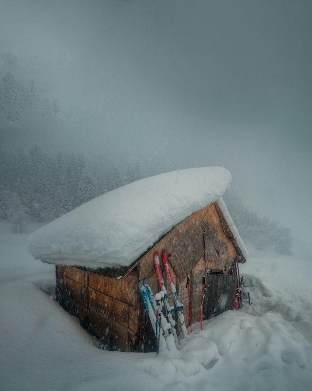 снег, горы, кош, nikon, зима, поход, свет Уют в снегах...photo preview