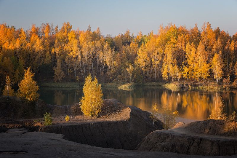 Осеннее утро.photo preview