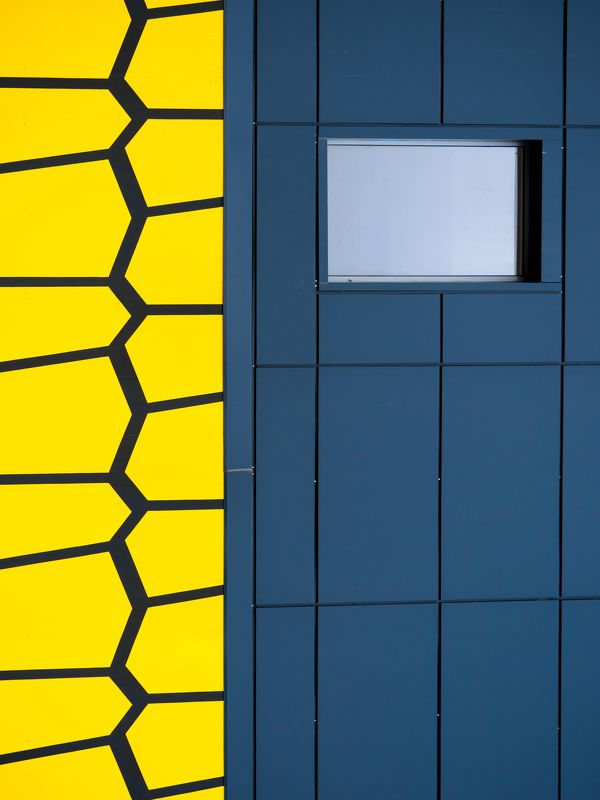 abstract, architecture, pattern, building, facade the hive & the windowphoto preview