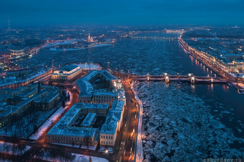 россия, петербург, санкт-петербург, питер, город, утро, рассвет, архитектура, река, нева, аэрофотосъемка, дрон, квадрокоптер Лед пошелphoto preview