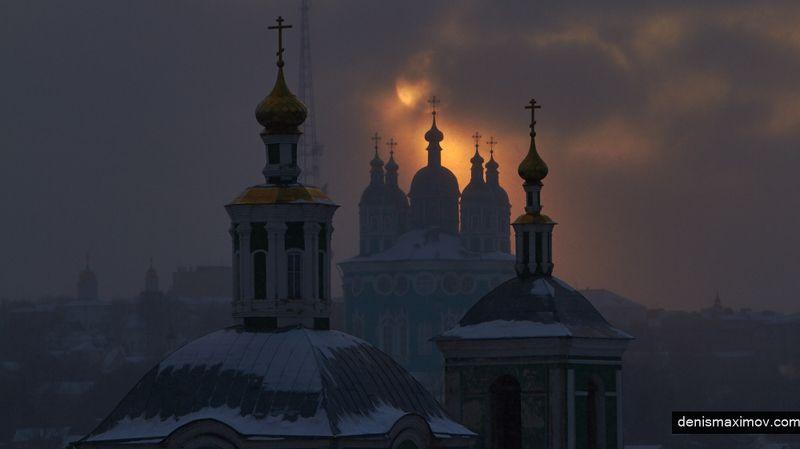 Смоленск Сквозь пелену снегаphoto preview