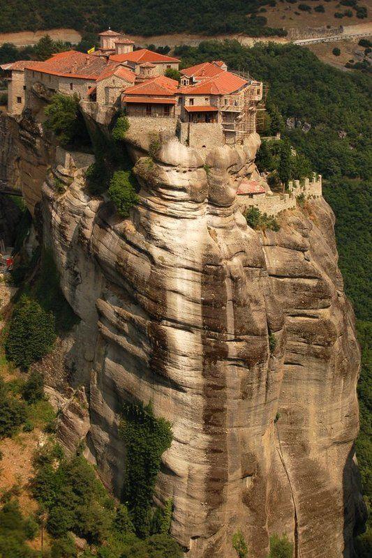 монастырь, греция, горы, метеоры Монастыри Метеорыphoto preview