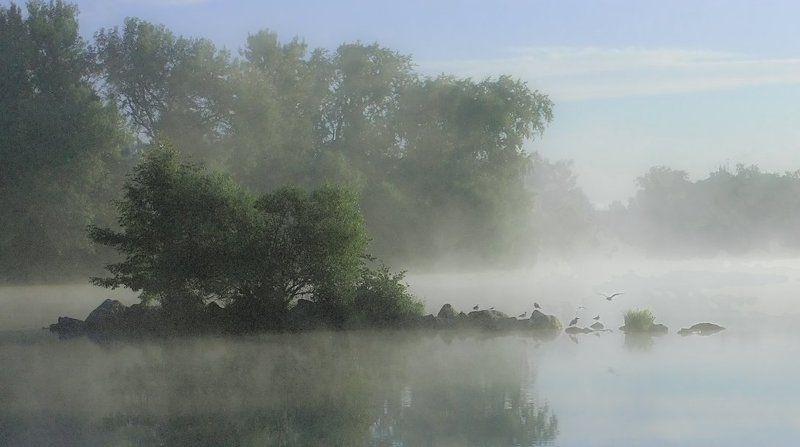 утро., озеро ***photo preview