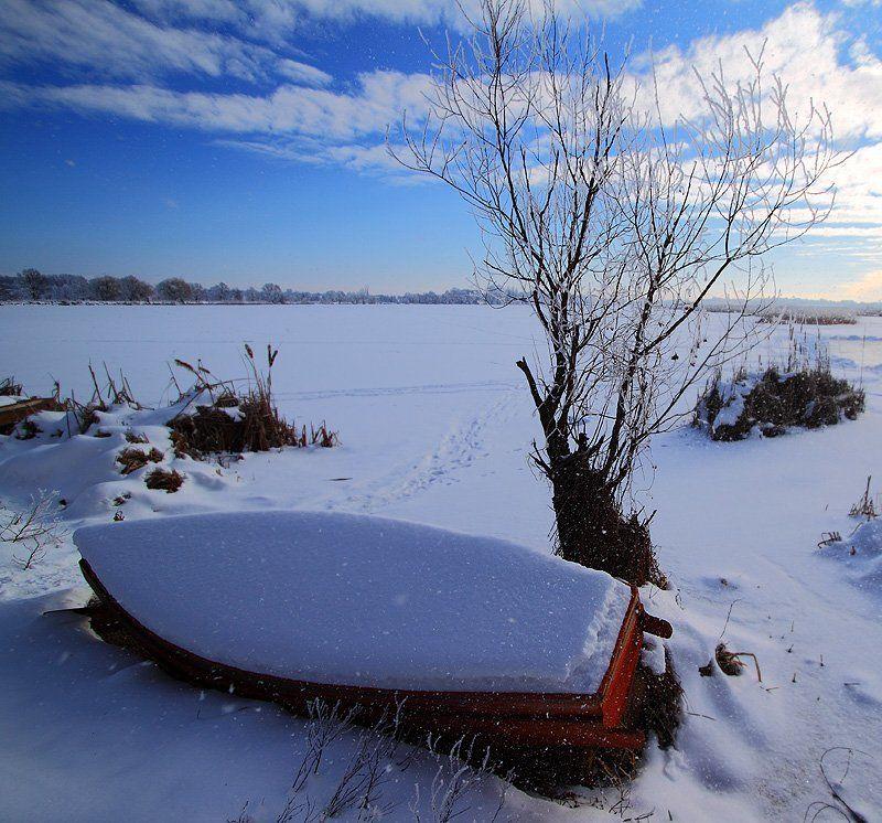 оржица, зима Зимой на Оржицеphoto preview