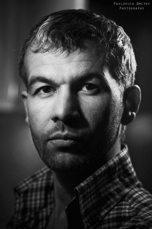 портрет,  черно-белый портрет photo preview