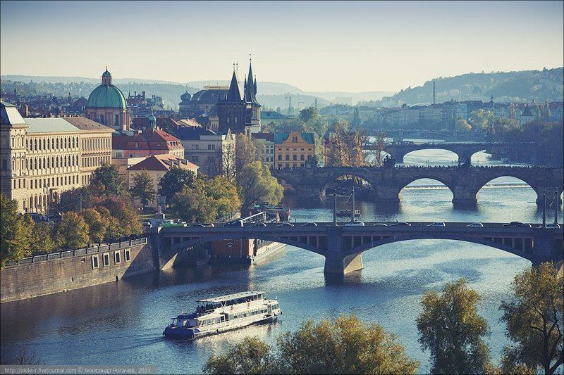 прага,осень,путешествие,влтава,карлов мост Прага открыточная.photo preview